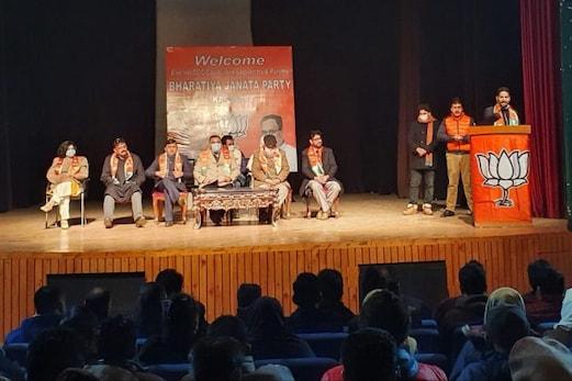 جموں و کشمیر : گپکار ایلائنس ہزاروں نوجوانوں کی موت کا ذمہ دار، بی جے پی کا سنگین الزام