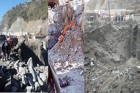 بانہال: ضلع رامبن میں کیلا موڑ کے مقام شاہراہ کے منہدم حصے کی بحالی کا کام شروع