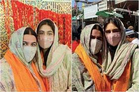 کرینہ۔سیف کے دوسرے بیٹے کے جنم کے بعد ماں امرتاسنگھ کے ساتھ اجمیر شریف پہنچیں سارہ علی خان