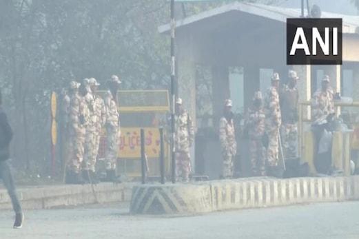 دہلی۔ این سی آر میں سیکورٹی فورس کے 50،000 جوان تعینات، 12 میٹرو اسٹیشن الرٹ