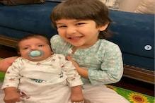 FACT CHECK : تیمور علی خان کے ساتھ چھوٹے بچے کی تصویر وائرل ، جانئے کیا ہے سچائی
