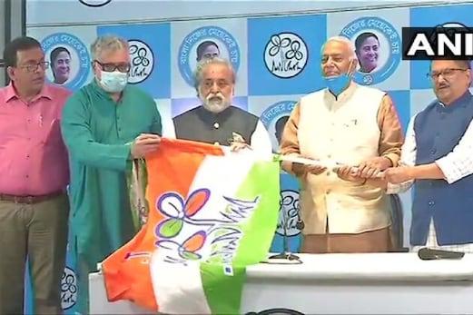West Bengal Assembly Election 2021: سابق بی جے پی لیڈر یشونت سنہا ٹی ایم سی میں ہوئے شامل، اٹل حکومت میں تھے وزیر