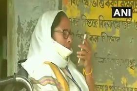 نندی گرام پولنگ بوتھ سے ممتا بنرجی کا گورنر کو فون، لوگوں کو ووٹ ڈالنے نہیں دے رہے