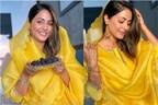 اداکارہ حنا خان نے کچھ اس انداز میں فینس کو دی رمضان کی مبارکباد ، تصویر ہوگئی وائرل