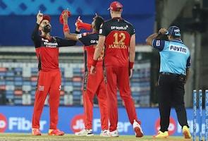 IPL 2021: بنگلورو نے لگائی جیت کی ہیٹ ٹرک ، کے کے آر پر بھاری پڑے ڈویلئرس اور میکسویل