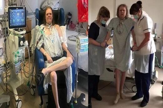 ایک سال سے کورونا پازیٹیو ہے یہ شخص ، وائرس نے بناکر رکھ دی ایسی حالت ، دیکھ کر رہ جائیں گے دنگ