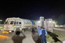 دہلی کے جی ٹی بی اسپتال میں شدید قلت کے دوران پہنچا آکسیجن ٹینکر،500مریضوں کوملی راحت