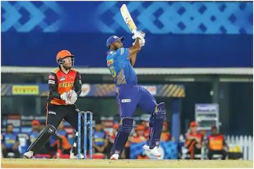 IPL 2021 : ممبئی انڈینس کی دوسری جیت ، سن رائزرس حیدرآباد کی لگاتار تیسری شکست