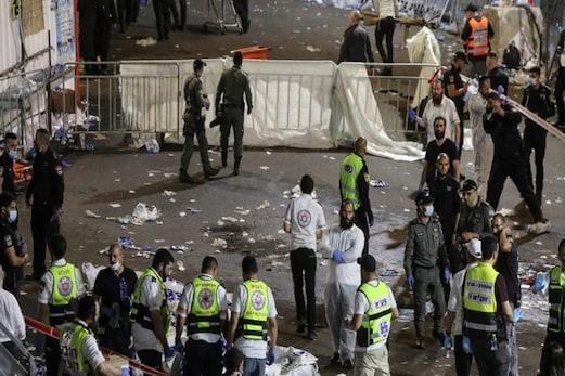 Bonfire Festival:اسرائیل میں مذہبی ایونٹ بون فائرفیسٹیول کےدوران مچی بھگدڑ،44 ہلاک