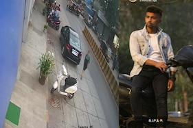 کار ڈرائیور کی بڑی  لاپروائی سے 19 سالہ نوجوان کی موتCCTV میں قید ہوا دردناک حادثہ۔۔۔