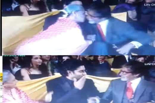 جب امیتابھ بچن نے بھری محفل میں جیا بچن کو کیا Kiss، بیچ میں بیٹھے تھے بیٹے ابھیشیک، دیا ایسا رد عمل: ویڈیو وائرل
