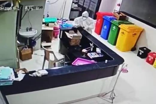 مہاراشٹر : پی پی ای کٹ پہن کر ریمیڈیسیور انجکشن کی چوری ، پولیس نے 3 افراد کو کیا گرفتار