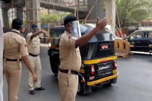مہاراشٹر میں کورونا کا قہر جاری ، ممبئی پولیس کو دو ماسک اور فیس شیلڈ پہننے کی ہدایت