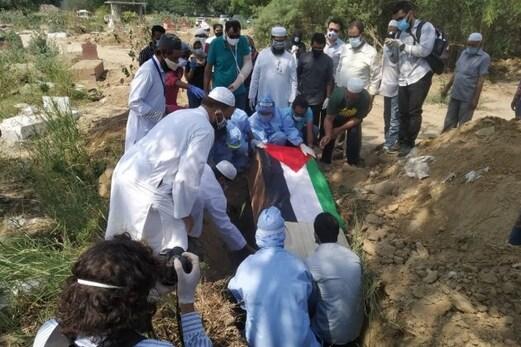 فلسطینی سفارت خانہ کے کونسلر فائق حمزہ کا کووڈ سے انتقال، دہلی گیٹ قبرستان میں سپرد خاک
