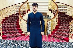 افغان کرکٹر راشد خان کا عالیشان گھر دیکھ کر خاتون کرکٹر نے پوچھا : کوئی محل ہے کیا ؟
