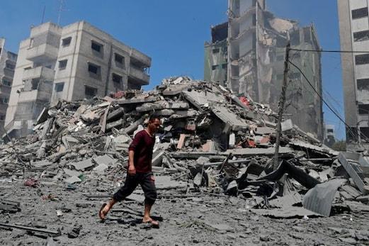 اقوام متحدہ کی چونکا دینے والی رپورٹ، اسرائیل نے غزہ پر بمباری سے 42,000 افراد کو کیا بے گھر! انسانی حقوق کی تنظیمیں خاموش