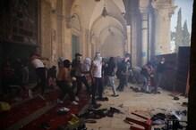 بیت المقدس میں اسرائیلی فوج اور فلسطینیوں کے درمیان پھر جھڑپیں ، 50 سے زائد زخمی