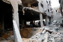 غزہ کے ہزاروں رہائشیوں کے گھر تباہ و برباد، تباہ شدہ گھروں کی تعمیر نو ضروری:امریکی صدر