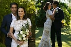 ایولن شرما نے شیئر کی تشان بھنڈی سنگ شادی کی تصویریں، وائرل ہوئیں اداکارہ کی Wedding فوٹو
