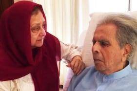 اسپتال سے سامنے آئی دلیپ کمار کی پہلی تصویر، ساتھ میں نظر آئیں بیوی سائرہ بانو