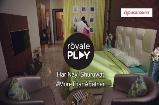 Asian Paints Royale Play کی #NayiShuruat کے ویڈیو فیچرنگ کے ساتھ فادرہوڈ کی نئی شروعات ،پہلی بار والد بنے راہل ریڈی