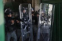 فلسطین اور اسرائیل کے درمیان حالات پھر کشیدہ ، مسجد اقصی میں جھڑپ ، متعدد نمازی زخمی