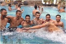 پول میں مستی کرتے نظر آئے ٹیم انڈیا کے یہ کھلاڑی، سامنے آئیں تصویریں  تو مچی ہلچل