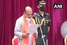 Basavaraj Bommai Oath Taking: بسوراج بومئی نے کرناٹک کے وزیر اعلیٰ کا حلف لیا