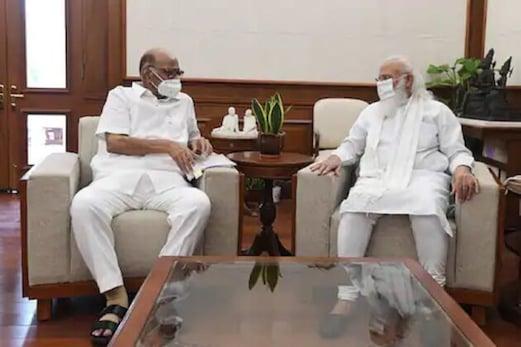وزیر اعظم نریندر مودی اور شرد پوار کے بیچ 57 منٹ تک چلی ملاقات، آخر کیا ہوئی بات؟