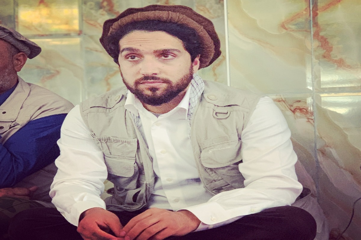 احمد شاہ مسعود کی فائل فوٹو۔(نیوز18 )۔