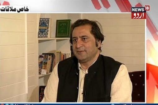 جموں وکشمیر: سجاد غنی لون نےکہا- پانچ اگست 2019 کے فیصلوں کے خلاف کشمیر میں غیر معمولی غم و غصہ