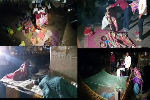 ممبئی شہر کے فٹپاتھ پر سونے والے بے گھر.، لاچار،  مجبو، بےسہارا لوگوں میں این جی او نے کمبل تقسیم کرتے ہوئے اہل ممبئی سے ان بے گھر افراد کی ہر ممکن مدد کرنے کی اپیل کی۔