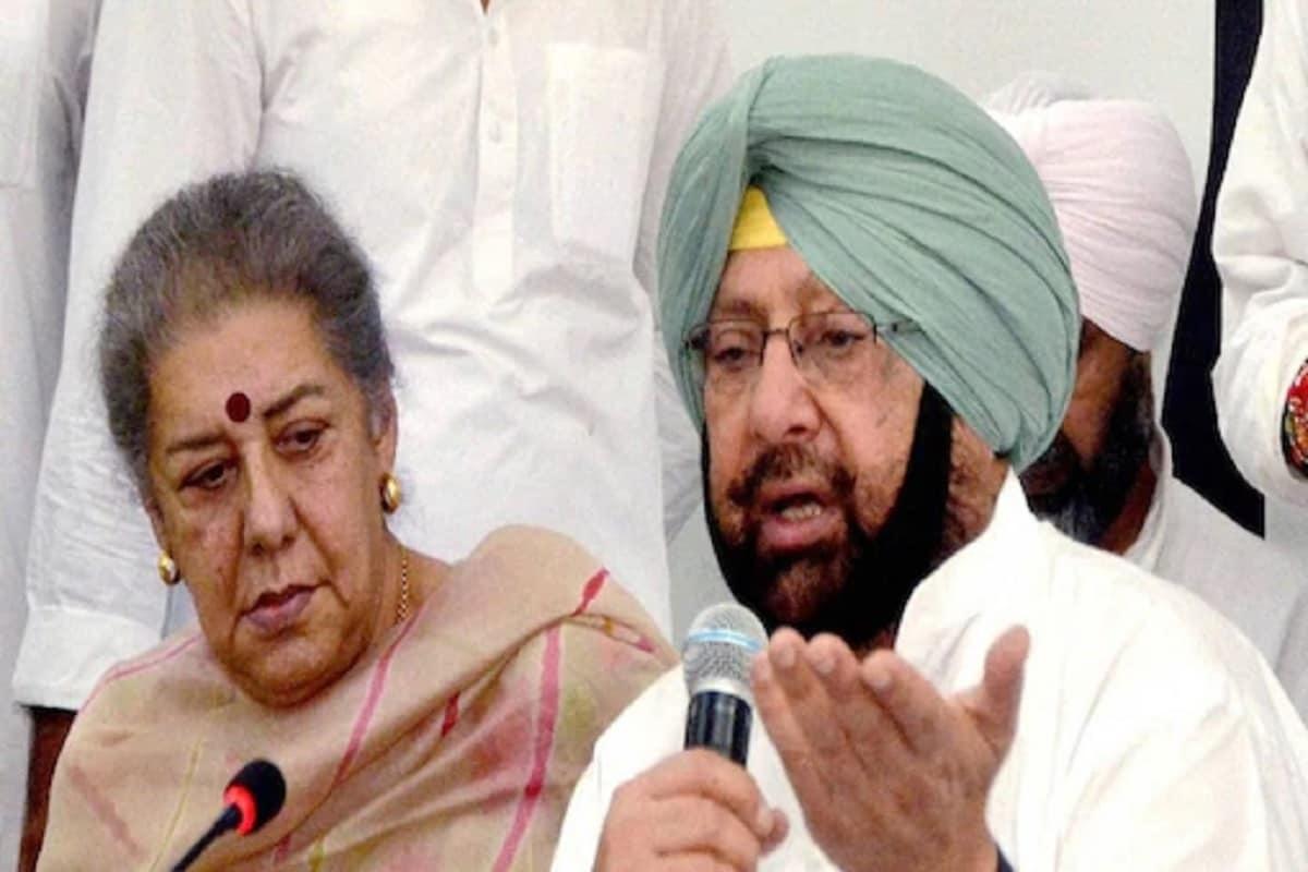 پنجاب کے کارگزار وزیر اعلیٰ امریندر سنگھ نے بھی کانگریس کو دھمکی دی ہے۔