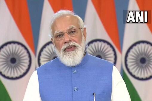 گلوبل کووڈ سمٹ : وزیر اعظم نے کہا : ایک دوسرے کے ویکسین سرٹیفکیٹ کو ملے منظوری ۔ تصویر : اے این آئی ۔