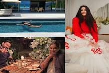 ریا کپور شوہر کے ساتھ مالدیپ میں منارہی ہیں ہنی مون، سامنے آئی انتہائی رومانٹک تصاویر