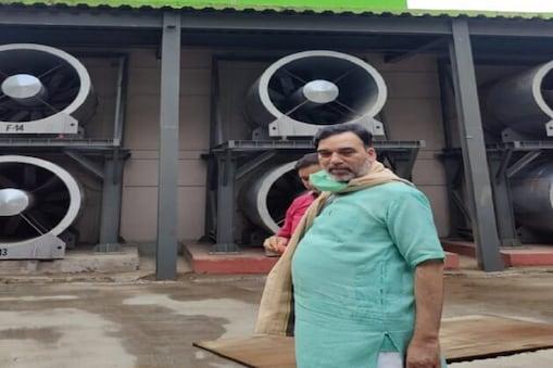ابتدائی رپورٹ میں انکشاف- گوپال رائے کا کناٹ پلیس میں اسموگ ٹاور کا دورہ، دہلی میں اسموگ ٹاور 80 فیصد مؤثر