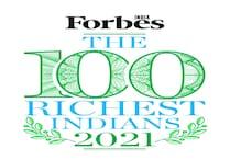 فوربس انڈیاکے100امیرترین افرادکی فہرست جاری، تازہ فہرست میں50فیصد دولت کاہوااضافہ