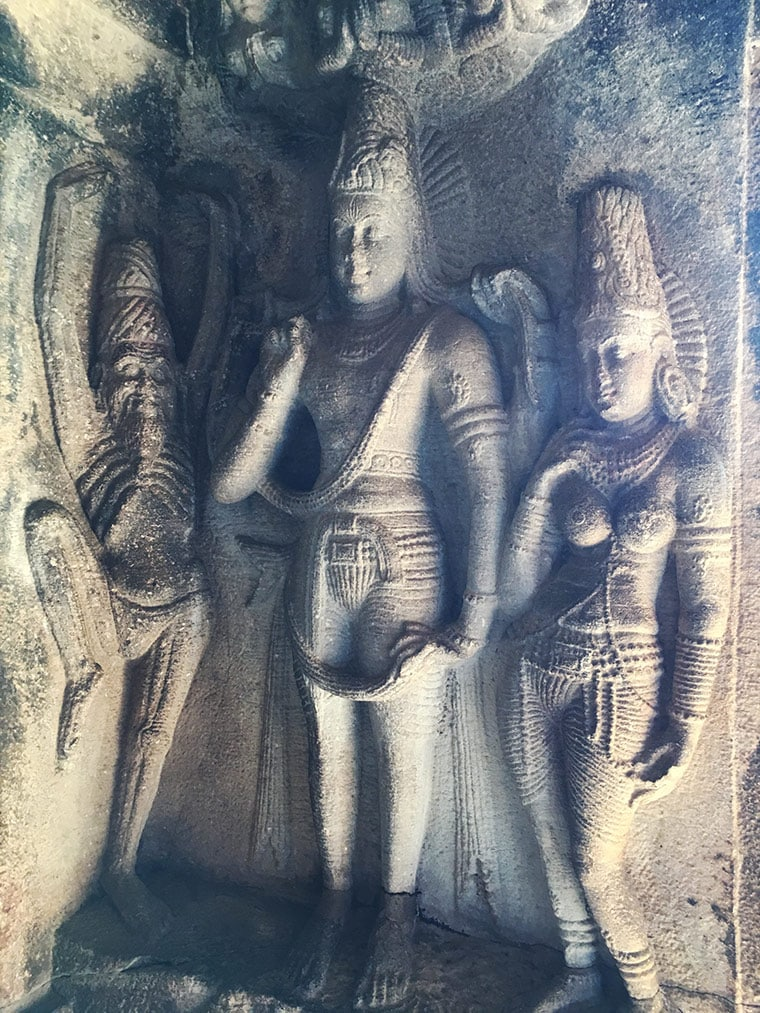 Sculptures at Aihole