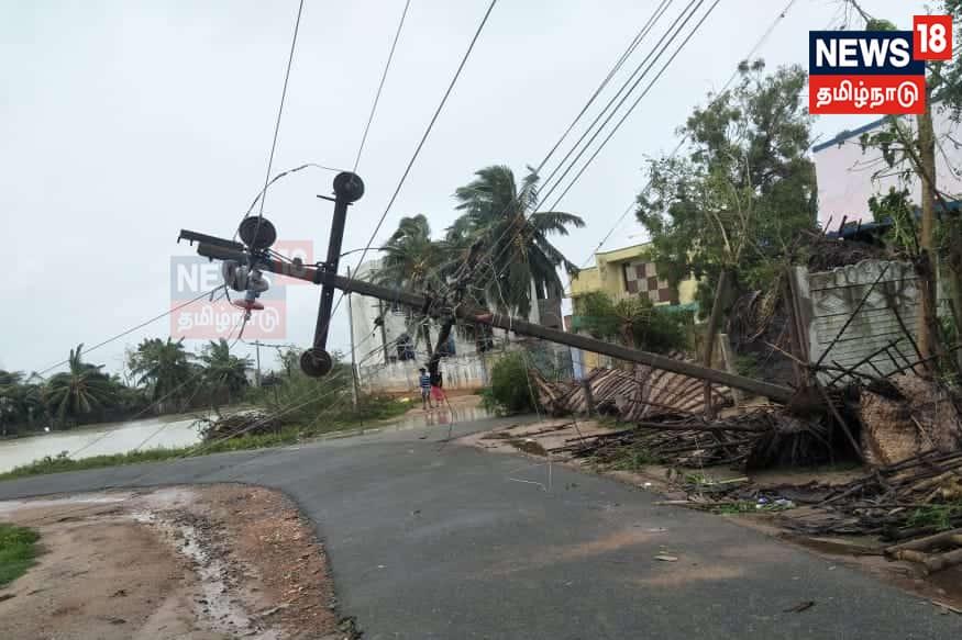 Tanjavur, street light post, தஞ்சாவூர், மின் கம்பம்,