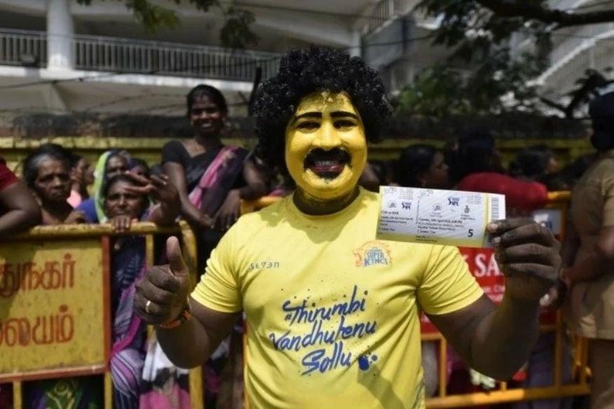 Chennai Fan Ticket, ஐபிஎல் டிக்கெட் விற்பனை