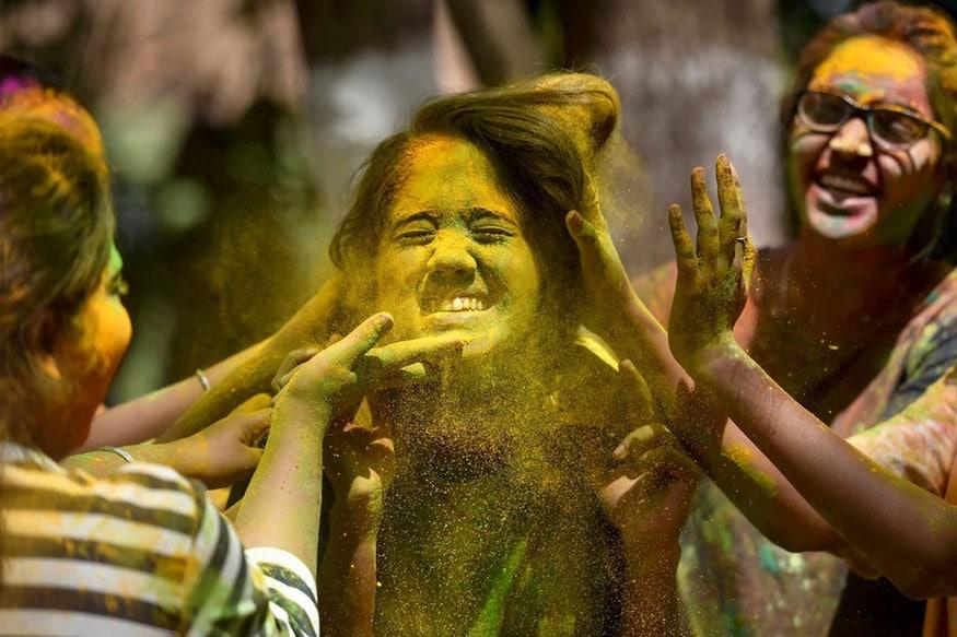 ஹோலி கொண்டாட்டம் (Image:AP)