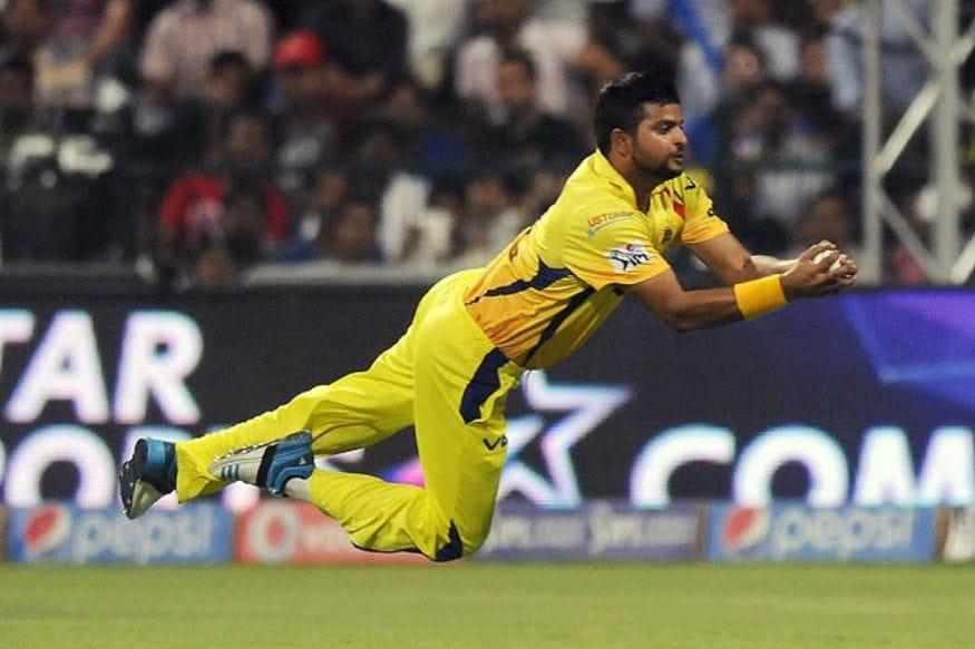 இன்னும் 5 கேட்ச்கள் பிடித்தால் 100 கேட்ச் பிடித்த வீரர் என்ற சாதனையும் ரெய்னா படைக்க உள்ளார். (Twitter)