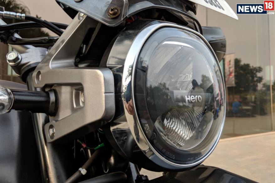 ஹீரோ X பல்ஸ் 200 (Image: Manav Sinha/News18.com)