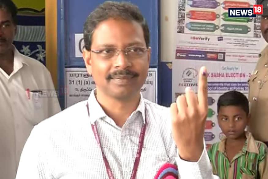 தமிழக தேர்தல் தலைமை அதிகாரி சத்ய பிரதா சாஹூ