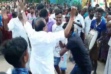Video: பிரசாரத்தில் குத்தாட்டம் ஆடிய அமைச்சர் கருப்பணன்!
