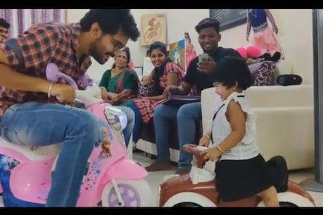 video: சாண்டி குழந்தையுடன் ஆட்டம் போட்ட கவின்