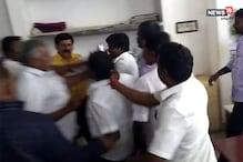 சின்னங்கள் ஒதுக்கீடு விவகாரம்... தேர்தல் அதிகாரியை தாக்கிய அதிமுகவினர்...! - வீடியோ