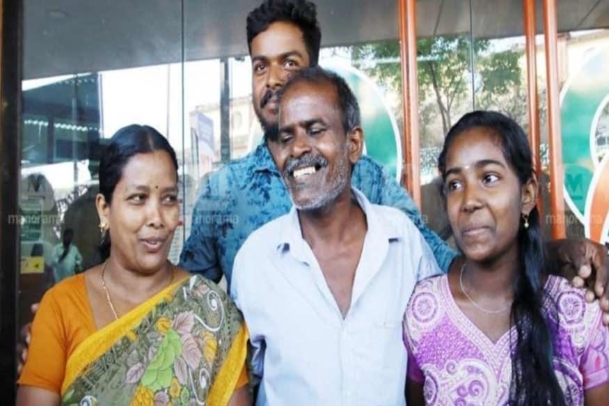 கன்னூர் அருகே உள்ள மாலூர் கைதாச்சலைச் சேர்ந்த 55 வயதான ராஜன் தினக்கூலியாக ரப்பர் தோட்டத்தில் வேலை செய்து வந்துள்ளார்.