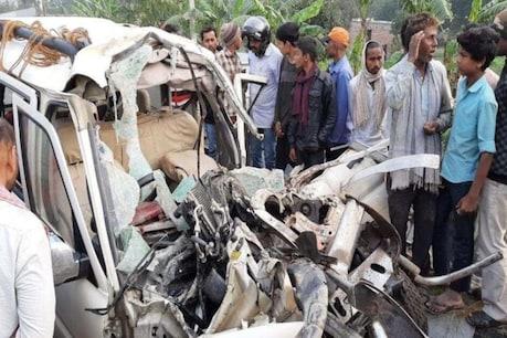 பீகாரில் கார் - டிராக்டர் மோதி விபத்து - 11 பேர் உயிரிழப்பு
