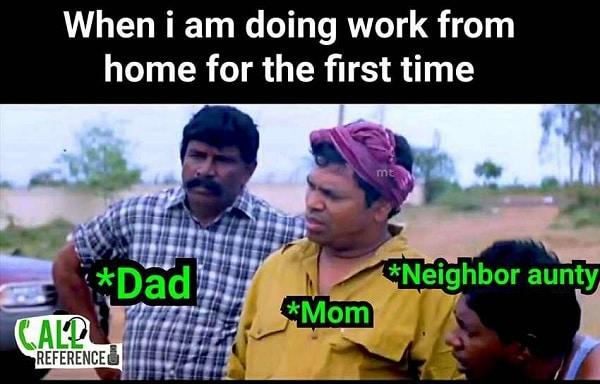 Work From Home - இணையத்தில் வைரலாகும் மீம்ஸ்
